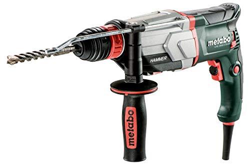 Metabo Multihammer UHE 2660-2 Quick (Schnellspannbohrfutter, Hammerfutter für SDS-Plus, metaBOX 145 l, Bohrtiefenanschlag, Zusatzhandgriff) 600697500
