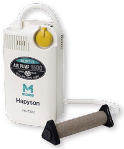 ハピソン 乾電池式エアーポンプ(マーカー機能付) YH-739C