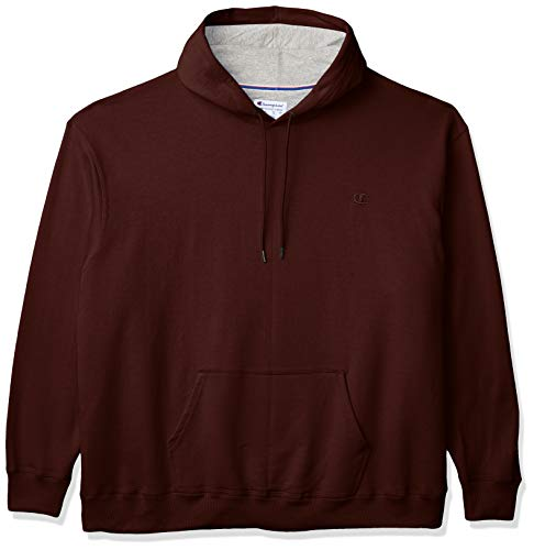 Champion Men's Powerblend Pullover Hoodie, Maroon, Small