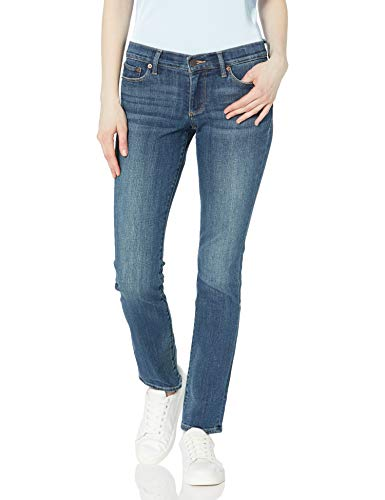 Lucky Brand Women's Mid Rise Sweet Straight Jean, Tanzanite, 32