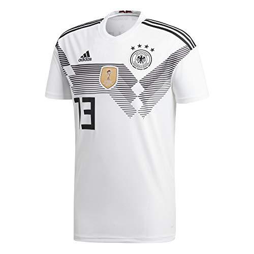 adidas DFB Home Deutschland Heimtrikot WM 2018 Kroos Müller Boateng Kimmich XS, Nummer und Name:13 - Müller, Größe:XS