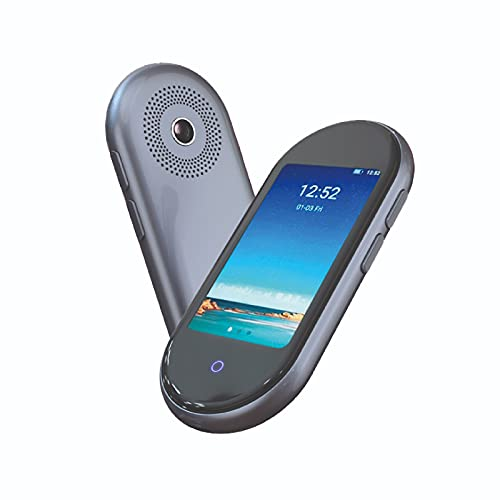 New Amazon Exclusive May 2021 | DoDoDuck 1 Plus Language Translator Device | Best Offline 2 Way Translation in 12 Languages 109 Online | No WiFi Needed | Bluetooth | Integrated AI Assistant
