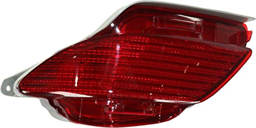 Aftermarket Rear Side Marker Compatible with 2010-2015 Lexus RX350 and RX450h With bulbs Driver Side