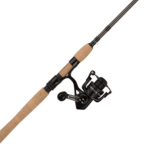 Penn 1422318 Conflict II Spinning Combo, 2500, 6.2: 1 Gear Ratio, 7' Length, 1pc Rod, 4-10 Lbs Line Rate, Ambidextrous