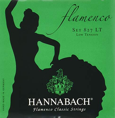 Hannabach 827LT - Cuerdas para guitarra clásica 827LT: Amazon.es ...