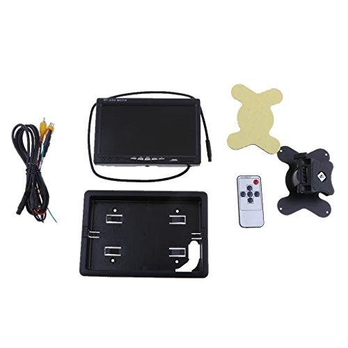 Sharplace Moniteur D'affichage Télécommande IR Support de montage 7 Pouces Pour Voiture / Automobile