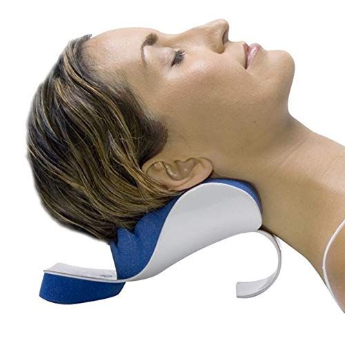 TIANMIAOTIAN Neck Brace Tension Shoulder Relaxer Blue Sponge Releases Neck Support for Neck Pain Relief Neck Traction Device for Muscle Tension Relief