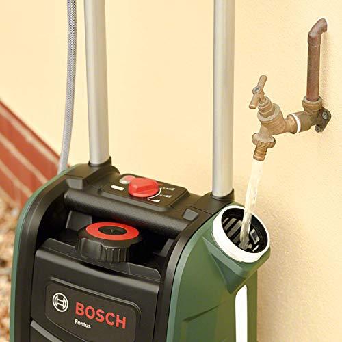 Bosch Akku Outdoor Reiniger Fontus – Wassertank & Akku - 7