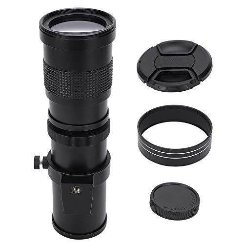 Sxhlseller Portátil 420-800mm F / 8.3-16 Super Manual Teleobjetivo Zoom Lente T2 Montaje para cámara SLR Fotografía de Larga Distancia