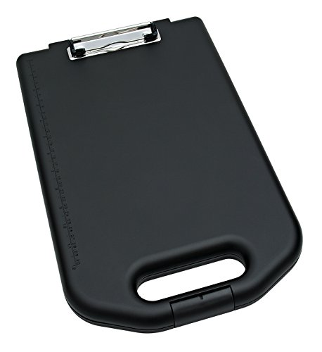 Wedo Clipboard and Storage Case - Black