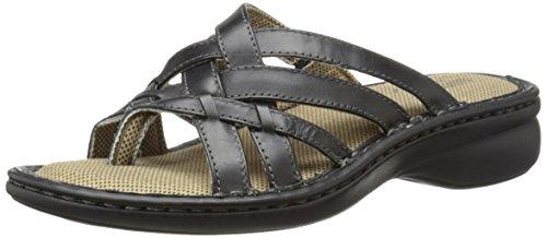 Eastland Women's Lila Dress Sandal, Black, 6 M US is $17 (72% off)