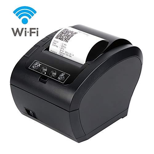 MUNBYN Impresora Ticket Térmica WiFi Inalámbrica