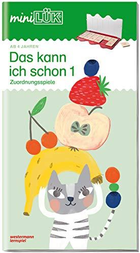 miniLÜK-Übungshefte: miniLÜK: Kindergarten/Vorschule: Das kann ich schon 1