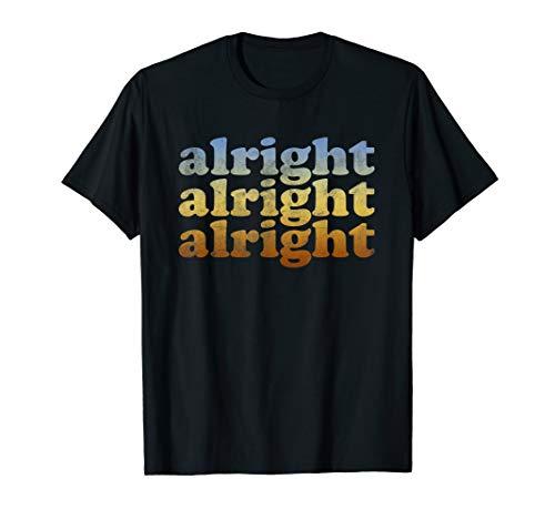 Alright T Shirt - Vintage Retro 70s Alright T-Shirt