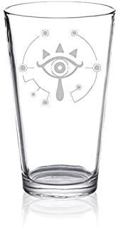 The Legend of Zelda - Sheikah Symbol - Etched Pint Glass