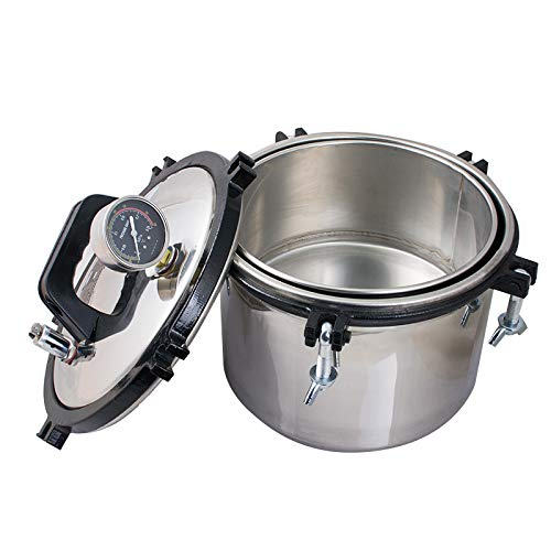 8.5QT Steam Autoclave Sterilizer New Shipping Free Shipping Portable H Don't miss the campaign Lab