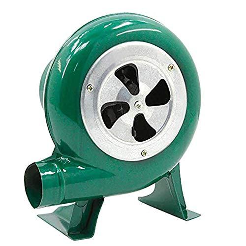 40 watt Haushalt Kleine Gebläse, Handgebläse Iron Gear Popcorn Fan Manuelle Fan, Manuelle BBQ Gebläse, für Camping/Picknick/Outdoor Aktivitäten, Große Grill Zubehör Geschenk