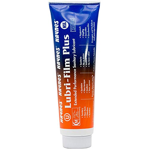 Food Grade O-ring Lubricant - 4 Oz Tube Twin Pack