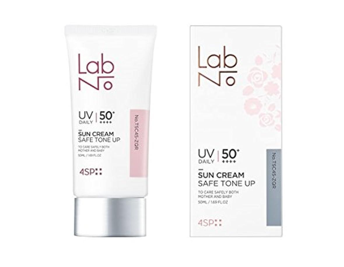 試用神経障害ボット[LabNo.]4SP セーフ トーンアップ サンクリーム 50ml(4SP Safe Tone-up Sun Cream) [並行輸入品]