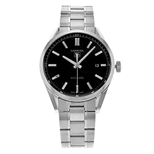 Tag Heuer Men's 'Carrera' Automatic Stainless Steel Watch WV211B.BA0787 image