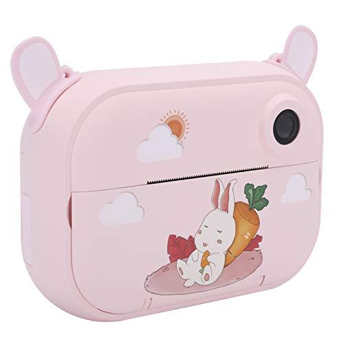 Gedourain Regalos de cumpleaños para niñas, cámara para niños, cámara portátil para niñas, impresión automática