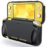 JETech Funda Compatible Nintendo Switch Lite 2019, Carcasa de Protección, Anti-Choques/Arañazo, Negro