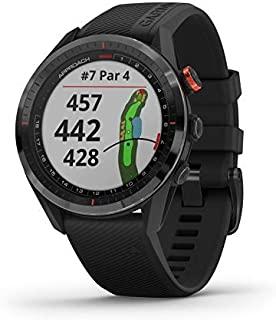 $760 » Garmin Approach S62, Premium Golf GPS Watch, Built-in Virtual Caddie, Mapping and Full Color Screen, Black (010-02200-00)...
