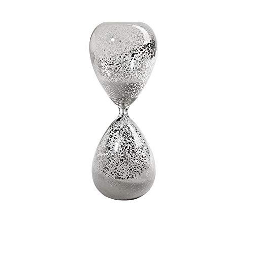 Luxdeoo Figuren Skulpturen Statuen Dekoartikel Skulptur Altmodisches, meliertes Vintage-Glas, 30 Minuten Stundenglas
