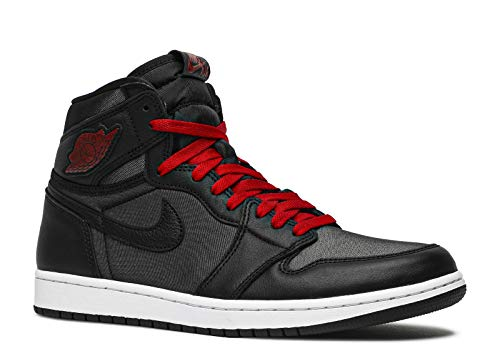 Jordan Air 1 Retro High OG, Running Shoe Mens, Negro/Black/