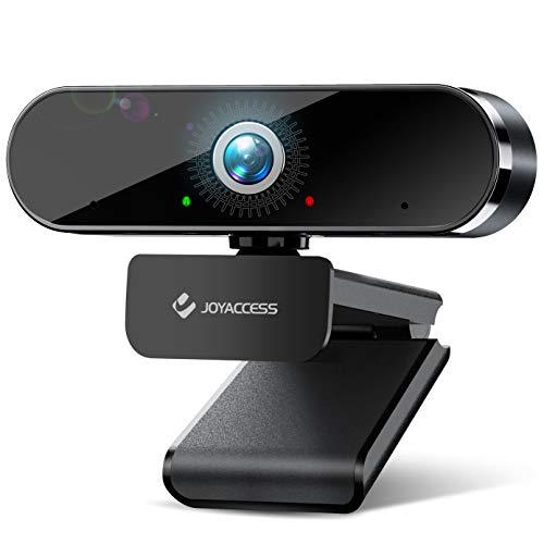 JOYACCESS Webcam con Micrófono,Cámara Web 1080p /30pfs, Webcam USB 2.0, Vista Gran Angular de 120º para Transmisión en Streaming, Conferencias en Zoom, Youtube, Skype, Compatible con Windows, Mac