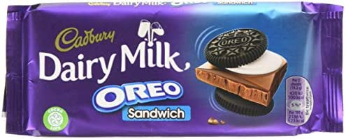 Cadbury Dairy Milk Oreo Sandwich Chocolate Bar, 96 g