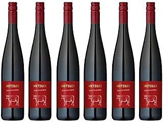 2019er Metzger Prachtstück Spätburgunder Cuvée Rot Wein QbA trocken Deutschland aus der Pfalz 6 Flaschen