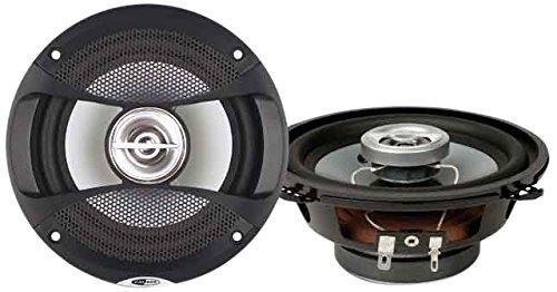 Caliber CDS13G 2-Wege Lautsprecher mit Grille, 5,25 Zoll Schwarz