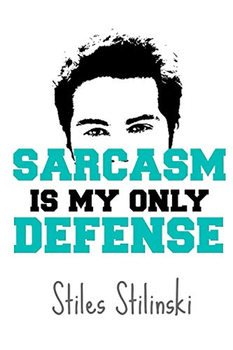 Teen Wolf Stiles Stilinski Notebook: (110 Pages, Lined, 6 x 9)