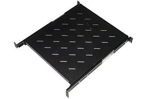 Link LKRIP550EN universele legplank voor kast, uittrekbaar vak op telescopische rails, 1 stuk, 550 mm, zwart