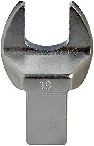 ALYCO 194139 194139-Cabeza Intercambiable 14x18 Boca Abierta 19 mm para Llave dinamométrica