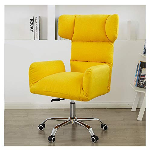 MMK PU Office Chair Adjustment Game Chair Lounge Chair Recliners For Patio Work Chair Executive Rotating Chair (Color : A3, Size : One Size)