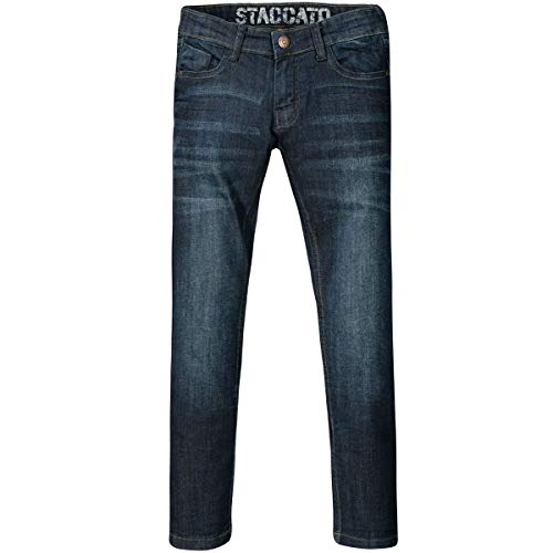 Jungen Jeans Jonas | Regular Fit - Stretch | Blue Denim 152 | 5-Pocket-Style | Casual