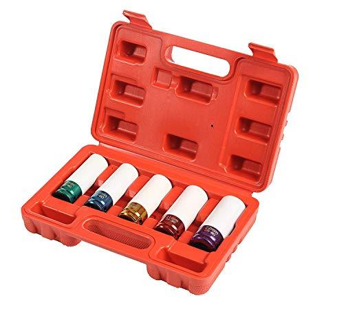 MotoDia Steckschlüssel-Set, 5-teilig