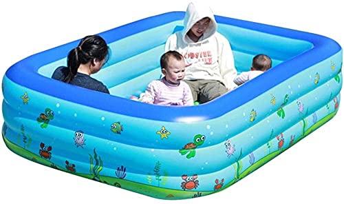 Piscinas Portátil Familia Inflable Jardín Verano Niños al Aire Libre Remado Play Inflable Natación XMJ (Color : 1.5m)