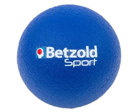Betzold Softball blau - Kinder-Softball, Soft-Bälle, Kinder-Ball Schaumstoff, Schaumstoffball weich leicht