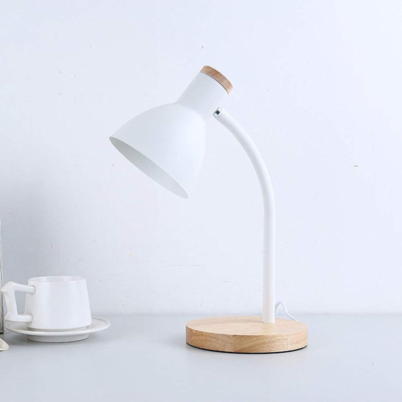 JYY LED Schreibtischlampe Leseleuchten Für Wohnzimmer Schlafzimmer Büro Nachttischlampe Nachttischlampe,DumbWeiß-5.9  16.1in