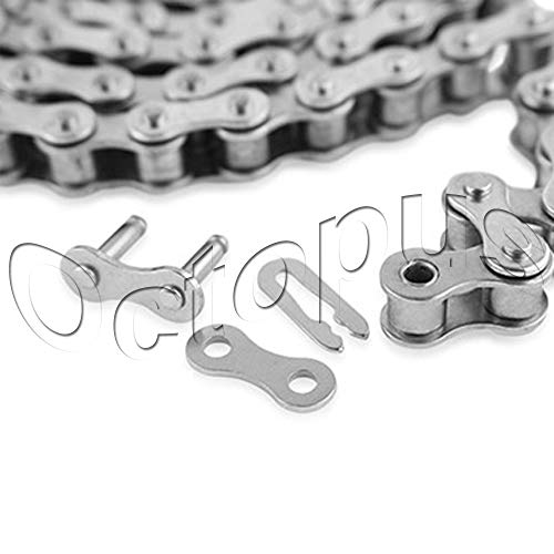 25 H-1 Roller Chain for Sprocket 3 Feet with 1 Connecting Link Drive Chain