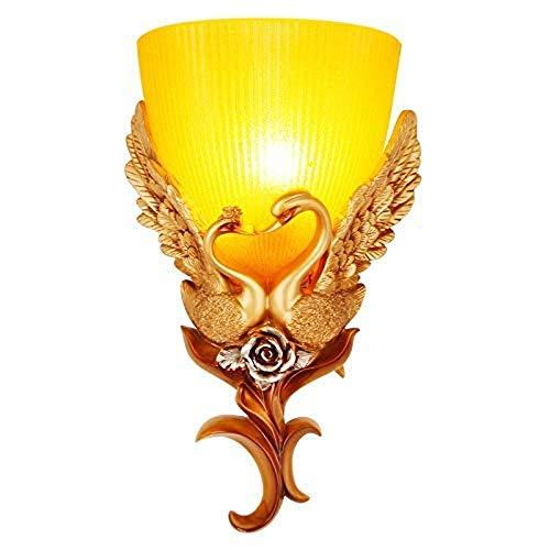Nanyun wandlamp, kunsthars, retro wandlamp, woonkamer/tv-wand, creatieve wandlamp, Aisle hal, wandlamp Swan American Postmodern