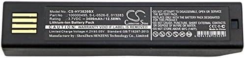3400mAh Scanner Battery for Honeywell 1202g, 3820, 3820i, 4620, 4820, 4820i, 5620, 6320, BAT-SCN01, Granit 1911i, 013283, 100000495, 50121527-002