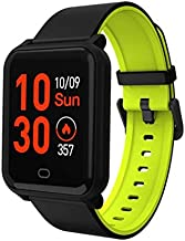 Hoteon Color Screen Fitness Watch, IP67 Waterproof Smart Activity Tracker with Heart Rate Monitor,Pedometer,Calorie Counter,Sleep Monitor, SMS/SNS Alert H706 (Green)