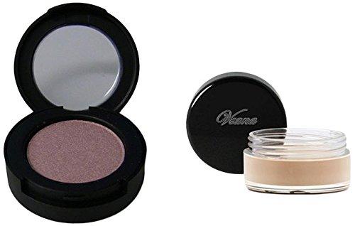Veana Set : Mineral Ombre à paupières + Primer Or Rose, 1er Pack (1 x 10 g)