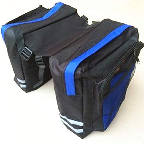 Fietstas rijuitrusting mand canvas mand 24L voor lange afstand volledige regendichte rij-apparatuur-mountainbike rack tas