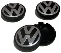 INNO VW Caddy EOS Golf Jetta Passat CC Phaeton Scirocco Sharan Tiguan Touran Transporter Hubcap Wheel Center Caps 3B7601171 3B7 601 171 (Set of 4 Pieces)