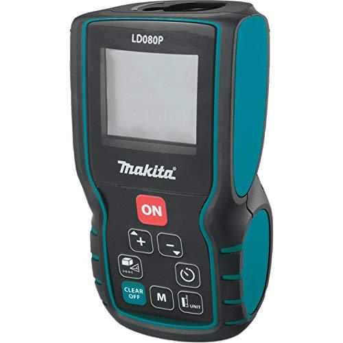Makita LD080P professionele laser - afstandsmeter, ± 1,5 mm, IP54 - beschermd